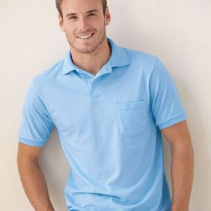 Ecosmart® Jersey Sport Shirt with Pocket Thumbnail