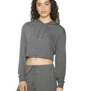 Women's Tri-Blend Cropped Hoodie Thumbnail