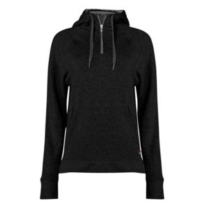 Women's Fitflex French Terry Hooded 1/4 Zip Thumbnail
