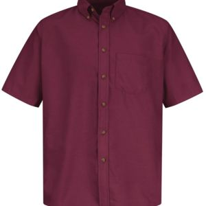 Poplin Short Sleeve Dress Shirt - Long Sizes Thumbnail