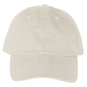 100% Washed Chino Cotton Twill Unstructured Cap Thumbnail